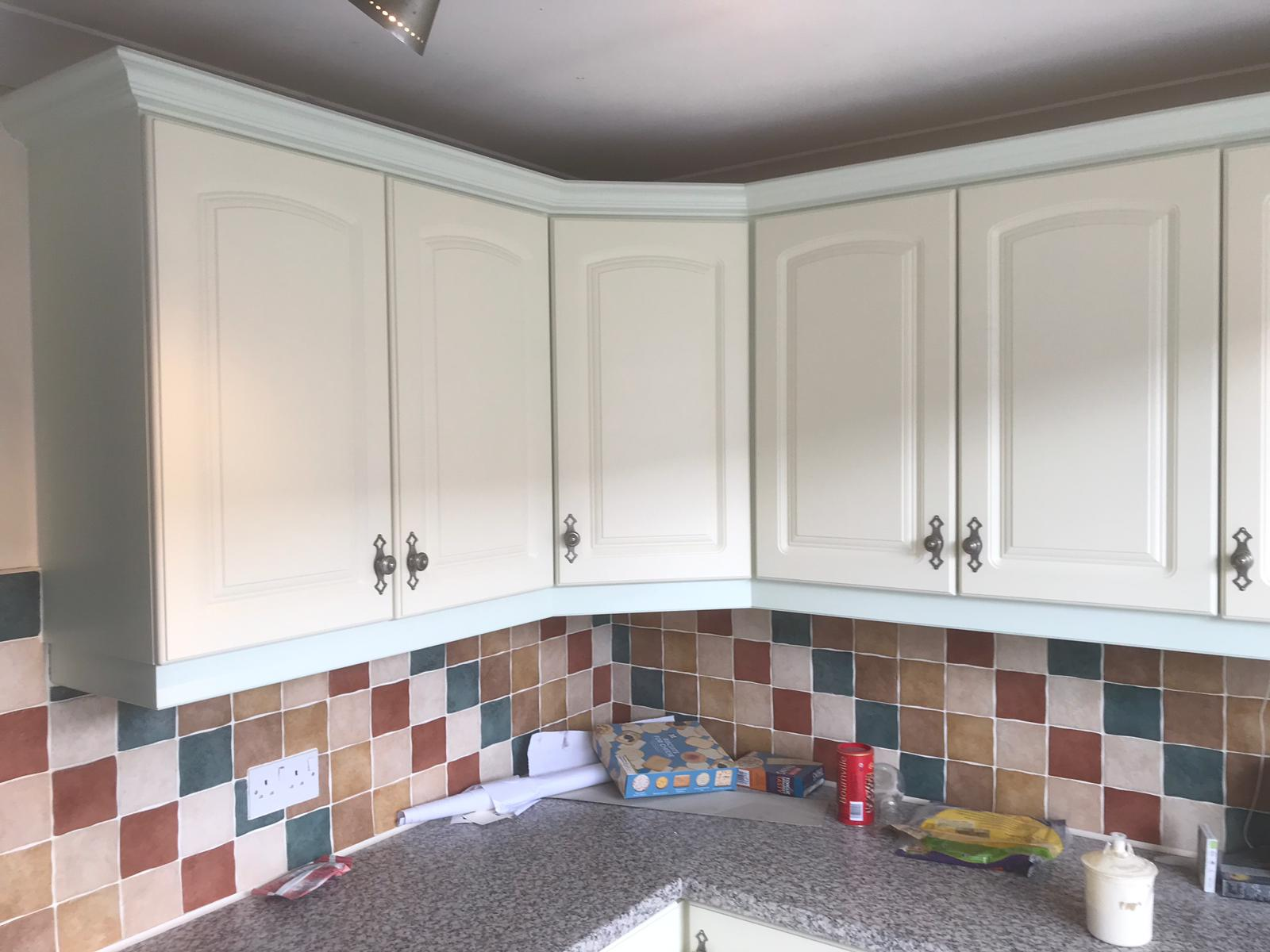 Kitchen Renovations Buy New Or Save Time And Money And Spray Your Existing Units Neil Walton Decorating